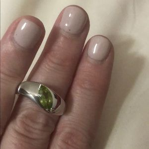 Jewelry - Peridot and sterling silver picture of it stamped